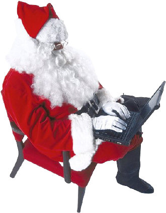 Santa Claus on a laptop 3.jpg (27605 bytes)
